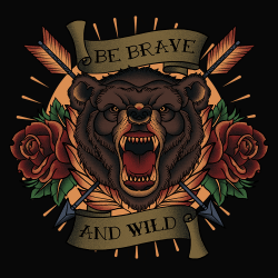 BRAVE-AND-WILD