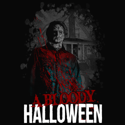 a bloody halloween