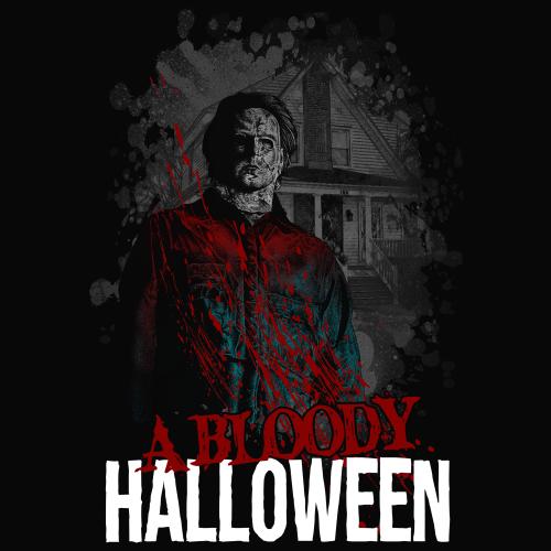 a bloody halloween
