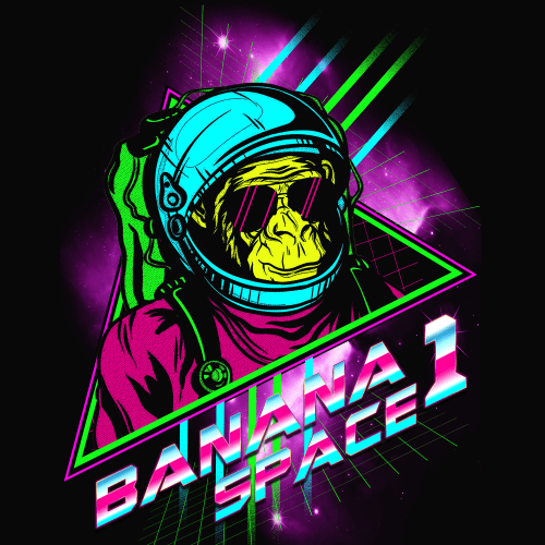 banana-in-space
